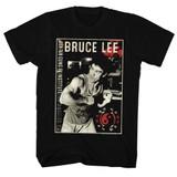 Bruce Lee Bruce Black Adult T-Shirt