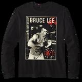 Bruce Lee Bruce Black Adult Long Sleeve T-Shirt