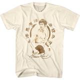Bruce Lee Bruce Lee Symbol Natural Adult T-Shirt