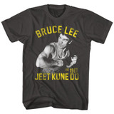 Bruce Lee Action Bruce Smoke Adult T-Shirt