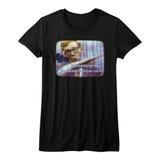 Hai Karate Vintage TV Black Junior Women's T-Shirt