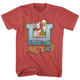 Hagar The Horrible Where The Party At Red Heather Adult T-Shirt