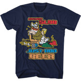 Hagar The Horrible Instant Slob Navy Adult T-Shirt