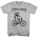 Flash Gordon Iwantto Gray Heather Adult T-Shirt