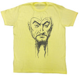 Flash Gordon Ming Mug2 Yellow Heather Adult T-Shirt