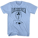 Flash Gordon Ballin' Royal Heather Adult T-Shirt