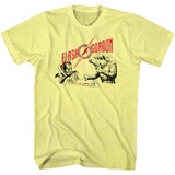 Flash Gordon Monopoly Pawnage Yellow Heather Adult T-Shirt