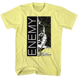 Flash Gordon Enemy Yellow Heather Adult T-Shirt