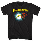Flash Gordon Doin It Black Adult T-Shirt