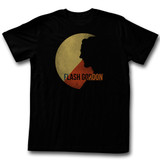 Flash Gordon Moon Of Firgia Black Adult T-Shirt