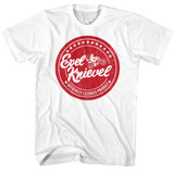 Evel Knievel Officially Licensed Product White Adult T-Shirt