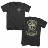 Evel Knievel Snake River Jump Smoke Adult T-Shirt
