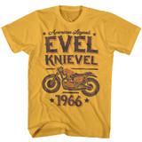 Evel Knievel Evel Legend Ginger Adult T-Shirt