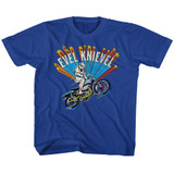Evel Knievel Royal Youth T-Shirt
