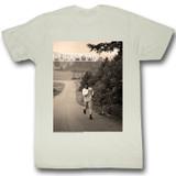 Muhammad Ali Running Natural Adult T-Shirt