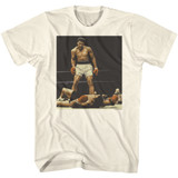 Muhammad Ali How Are You White Adult T-Shirt