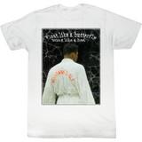 Muhammad Ali Champ White Adult T-Shirt