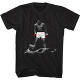 Muhammad Ali Whabam Black Adult T-Shirt