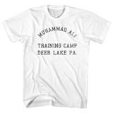 Muhammad Ali Deer Lake White Adult T-Shirt