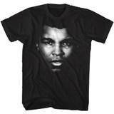 Muhammad Ali Ali Portrait Black Adult T-Shirt