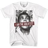 Muhammad Ali Ali 1067 White Adult T-Shirt