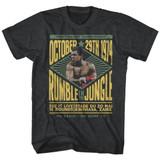 Muhammad Ali Rumble Black Heather Adult T-Shirt