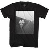 Muhammad Ali Road Running Black Adult T-Shirt