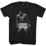 Muhammad Ali Quote Me Black Adult T-Shirt