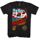 Muhammad Ali Boxing Black Adult T-Shirt