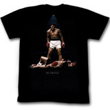 Muhammad Ali All Over Again Reg Black Adult T-Shirt