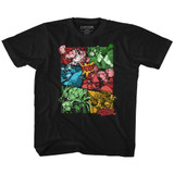 Street Fighter Grow Up Black Youth T-Shirt
