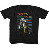 Twisted Sister Stay Hungry Black Youth T-Shirt