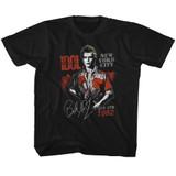 Billy Idol August '82 Black Toddler T-Shirt