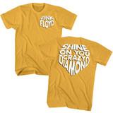 Pink Floyd Shine On Ginger Adult T-Shirt