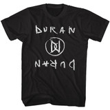 Duran Duran DD's Black Adult T-Shirt