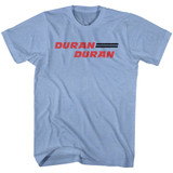Duran Duran Light Blue Heather Adult T-Shirt