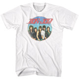 Bon Jovi Vintage Band Shot White Adult T-Shirt