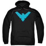 Batman Nightwing Symbol Adult Pull Over Hoodie Sweatshirt