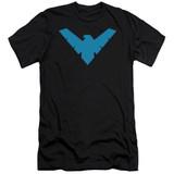 Batman Nightwing Symbol Adult 30/1 T-Shirt
