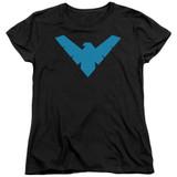 Batman Nightwing Symbol Junior Women's T-Shirt