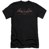 Batman Arkham Knight Black Adult 30/1 T-Shirt