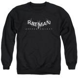 Batman Arkham Knight AK Splinter Logo Black Adult Crewneck Sweatshirt