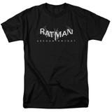 Batman Arkham Knight AK Splinter Logo Black Adult 18/1 T-Shirt