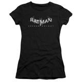 Batman Arkham Knight AK Splinter Logo Sheer Black Junior Women's T-Shirt