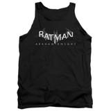 Batman Arkham Knight AK Splinter Logo Black Adult Tank Top T-Shirt