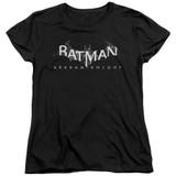 Batman Arkham Knight AK Splinter Logo Black Women's T-Shirt