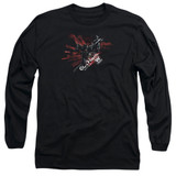 Batman Arkham Knight AK Tech Black Adult Long Sleeve T-Shirt