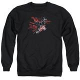 Batman Arkham Knight AK Tech Black Adult Crewneck Sweatshirt