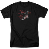 Batman Arkham Knight AK Tech Black Adult 18/1 T-Shirt