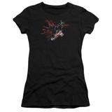 Batman Arkham Knight AK Tech Sheer Black Junior Women's T-Shirt
